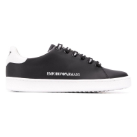 Emporio Armani Women's 'Two Tone Low Top' Sneakers